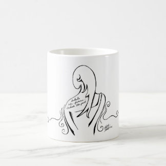 Black and White Inspirational Mug
