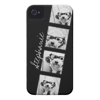 Black and White Instagram Photo Collage iPhone 4 Covers