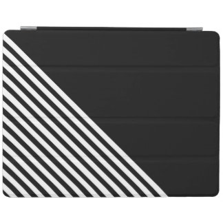 Black-and-white iPad Cover