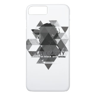 black and white iPhone 7 plus case