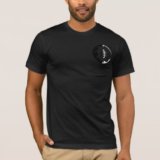 Black and White Japanese Font Courage T-Shirt
