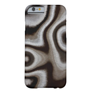 Black and white Jasper stone Barely There iPhone 6 Case