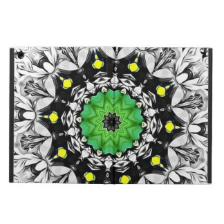 Black and White Kaleidoscope iPad Air Cover