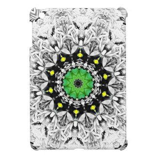 Black and White Kaleidoscope iPad Mini Case