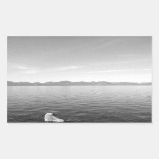 Black And White Landscape 11 Sticker