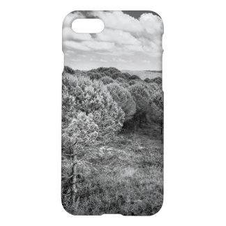 Black and white landscape photo iPhone 7 case