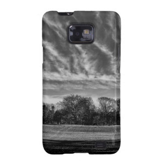 Black and White Landscape Photo of Central Park Samsung Galaxy SII Covers