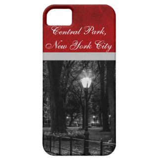 Black and White Landscape Photo of Central Park iPhone 5 Case