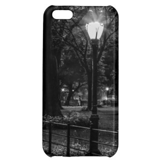 Black and White Landscape Photo of Central Park Case For iPhone 5C