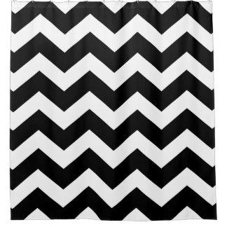 Black and White Large Chevron Pattern