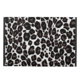 Black and White Leopard Print - Classic Stylish