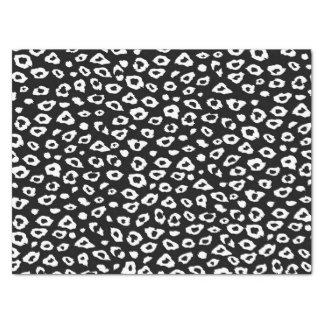 "Black and White Leopard Print 15"" X 20"" Tissue Paper"