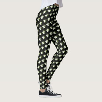 Black and White Lily Leggings