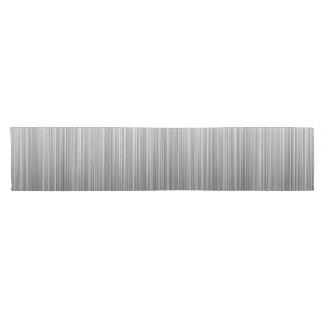 Black and White Line Design Short Table Runner