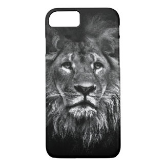 Black and White Lion Case-Mate iPhone 8/7 Case