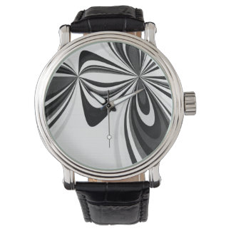 Black and White Loops Watch
