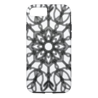 Black and White lotus love ~ iPhone 8/7 Case
