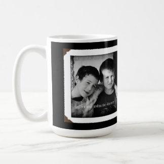 Black and White Love Mom Sand Dollars Mug