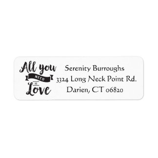 Black And White Love Quote - Wedding, Engagement