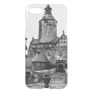Black and White Magical Castle Photograph iPhone 7 Case