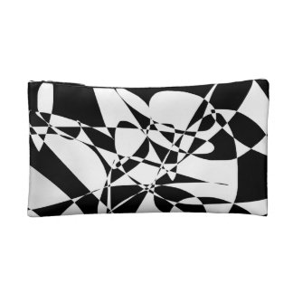 Black and White Make-up Bag