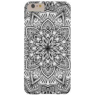 Black and white Mandala Art Phone Case