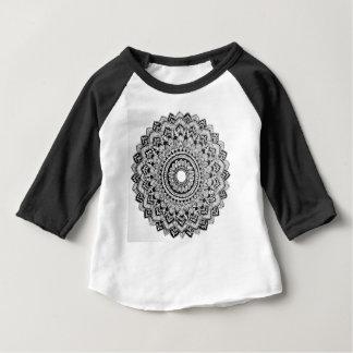 Black and White Mandala Baby T-Shirt