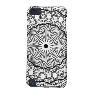 Black and White Mandala Cell Phone Case