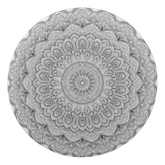 Black and white Mandala Eraser