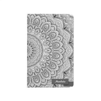 Black and white Mandala Journal