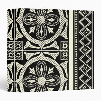 Black and White Mandala Motif by Vision Studio Binder