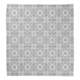 Black and White Mandala Zen Pattern Bandana