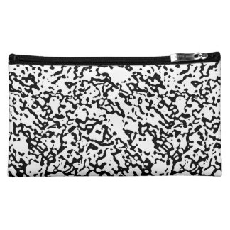 """Black And White"" Marble Design Clutch/Mini Bag Makeup Bag"