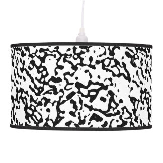 "Black And White ""Marble"" Design Pendant Lamp"