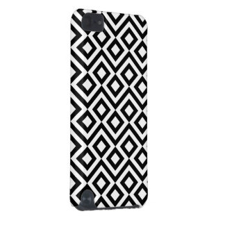 Black and White Meander iPod Touch 5G Covers