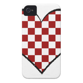 Black and white meets red version 25 iPhone 4 cover