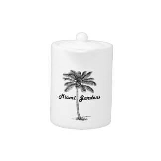Black and White Miami Gardens & Palm design