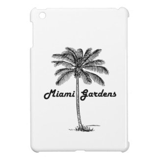 Black and White Miami Gardens & Palm design Cover For The iPad Mini
