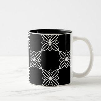 Black And White Modern Art Deco  Mug