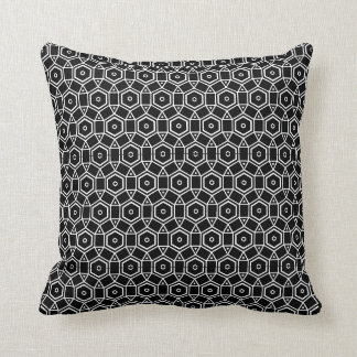 black and white modern  pillow
