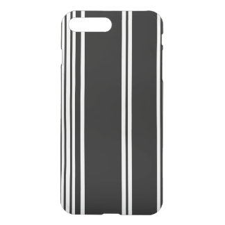 Black and White Modern Stripes iPhone 7 Plus Case