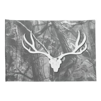Black and White Mule Deer Pillow Cases Pillowcase