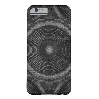 Black and white music speakers barely there iPhone 6 case