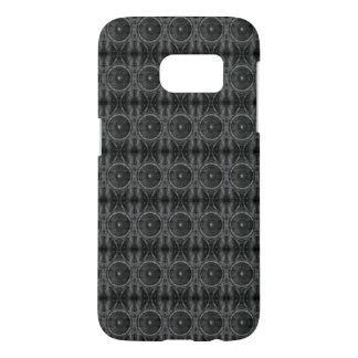 Black and white music speakers samsung galaxy s7 case