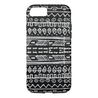 Black and White Native American - hieroglyphic iPhone 7 Case