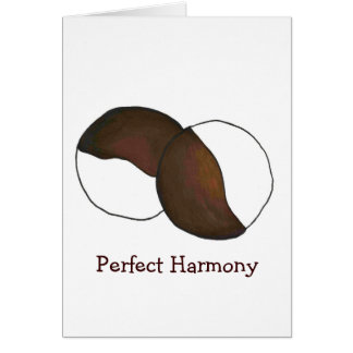 Black-and-White NYC Harmony Cookie Cookies Card
