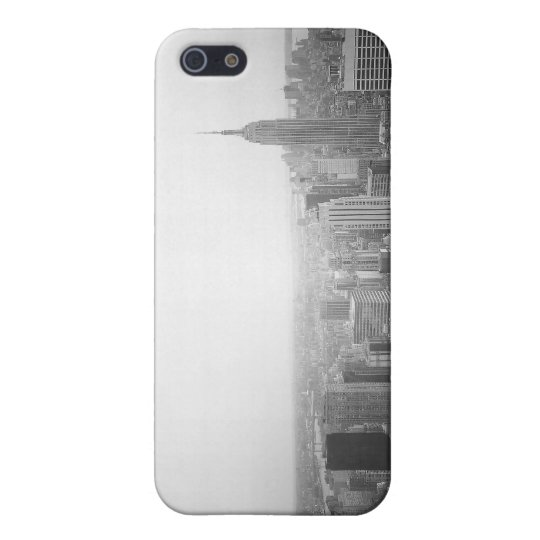 Black and White NYC Overhead View iPhone 5 Cover