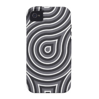 Black and White Optical 4/4S case