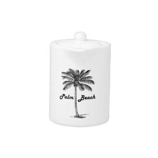 Black and white Palm Beach Florida & Palm design