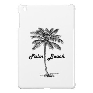 Black and white Palm Beach Florida & Palm design iPad Mini Cases